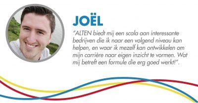 Joel's Testimonial