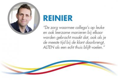 Reinier's Testimonial