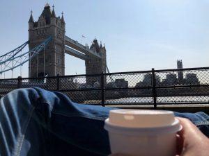 ALTEN coffee at the bridge