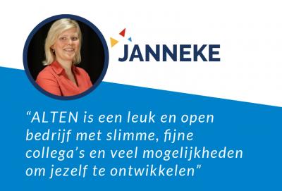 Janneke's Testimonial