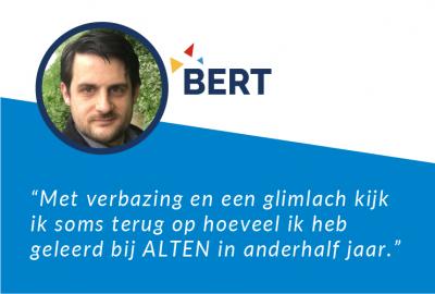 Bert's Testimonial