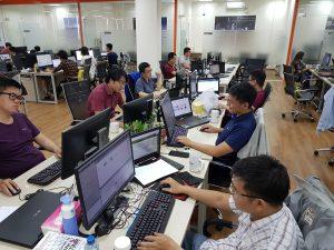 Werkplek ALTEN Mark Vietnam