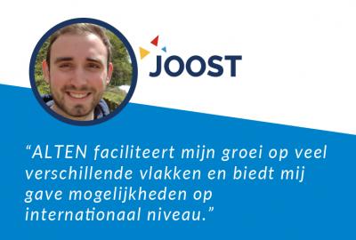 Joost's Testimonial