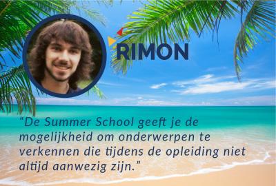 Rimon's Testimonial Summer School
