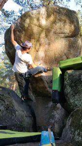 Taran boulderen
