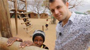 Ian in Zuid-Afrika