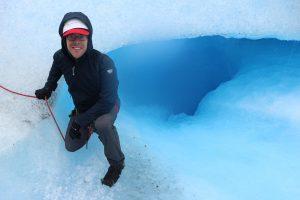 Bernhard in het ijs