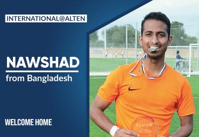 International@ALTEN: Nawshad