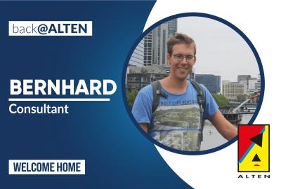 Back@ALTEN: Bernhard