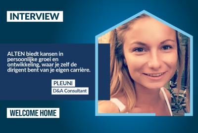 Interview: D&A consultant Pleuni