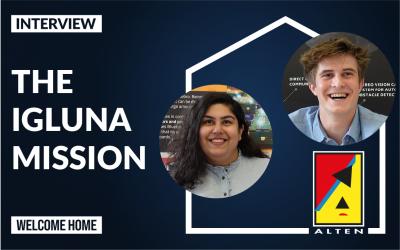 Interview: the IGLUNA mission