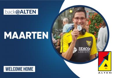 Back@ALTEN: Maarten